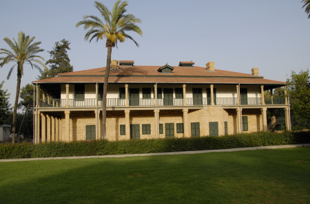The former colonial secretary's lodge, now housing the Cyprus Cultural Foundation in Nicosia