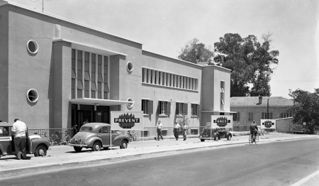 The original PIO building in 1955, now the House of Representatives